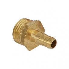 Штуцер латунный/никель НР Ду 15х20 мм (Украина)