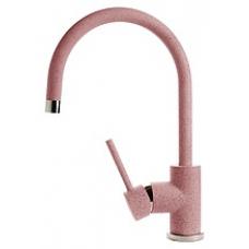 """Смеситель д/кухни GF (3023) """"U-обр,"""" D-35mm.цвет Розовый 315"""