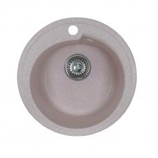 Мойка комп.Granfest Rondo GF-R450 Светло-Розовый 311 круглая (GF-45) (d450)