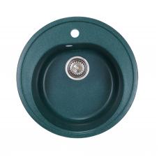 Мойка комп.Granfest Rondo GF-R510 Зеленый 305 круглая (F-08)(d510)