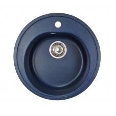 Мойка комп.Granfest Rondo GF-R510 Синий 323 круглая (F-08)(d510)