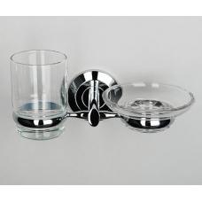 Аксесс Rhein Держатель стакана и мыльницы (Германия) К-6226