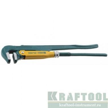 """2734-30 Ключ трубный KRAFTOOL  ПРОФИ,тип """"L"""" 3""""/670 мм"""