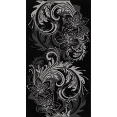 Азур графит 25*45 1645-0049 Декор НЗ