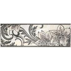 Азур черный (на белом) 25*8,5 1501-0046 Бордюр НЗ