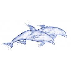 Дип Блю DB2G051D 20х44 Дельфин Декор