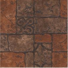 Бастион 4 коричневый 40*40 Керамический гранит