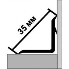 Бордюр на ванну 1,80 м белый (ласточка) 35 мм