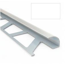Профиль для керамической плитки 7 наруж. белый