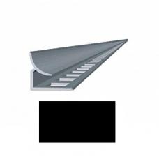 Профиль для керамической плитки 7 внутр. черный
