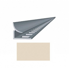 Профиль для керамической плитки 7 внутр. слоновая кость