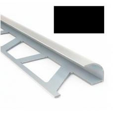 Профиль для керамической плитки 7 наруж. черный