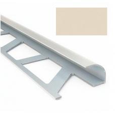 Профиль для керамической плитки 7 наруж. слоновая кость