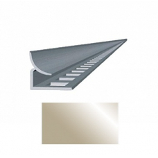 Профиль для керамической плитки 9 внутр. металлик золотистый