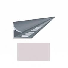 Профиль для керамической плитки 9 внутр. светло-сиреневый