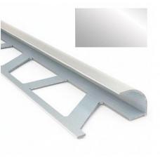 Профиль для керамической плитки 9 наруж. металлик НЗ