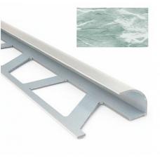Профиль для керамической плитки 9 наруж. мрамор лазурный