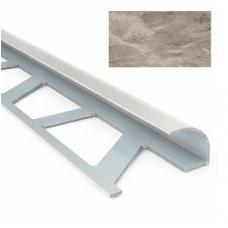 Профиль для керамической плитки 9 наруж. мрамор светло-бежевый