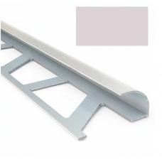 Профиль для керамической плитки 9 наруж. светло-сиреневый