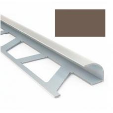 Профиль для керамической плитки 9 наруж. шоколадный