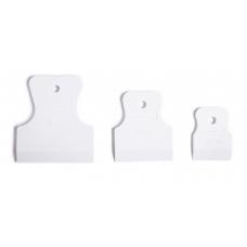 85803 Набор шпателей 40-60-80 мм белая резина//СИРБТЕХ