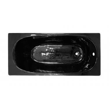 Ванна  чугунная MBTZ 1,5х0,7х0,42 м BK (черная)  (КНР)