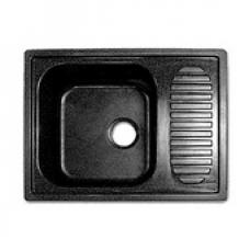 Мойка комп.Granfest Standart GF-S645L Черная308 с крылом (GF-13) (645x500)