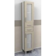 """Шкаф-колонна """"Гермес"""" 34 см цв. выбелен.дуб (Россия) 18365 Меркана"""