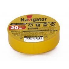 Изолента Navigator 112 NIT-A19-20/Y