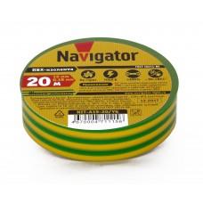 Изолента Navigator 115 NIT-A19-20/YGR