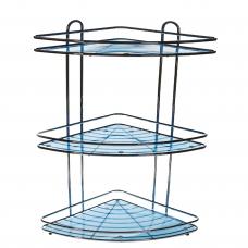 Полка угловая 3-ярусная BLUE    016-55