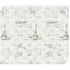 Стеновая панель ПВХ Асти Париж серый №233/3 0,520х0,720 НЗ