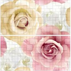 Арома розовый (691-0) 50х50 Панно