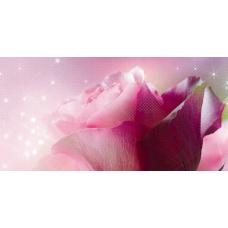 Арома (Ланком) розовый (619-1) 25х50 Декор
