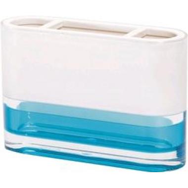 12745 Стакан д/зубных щеток TOPAZ BLUE