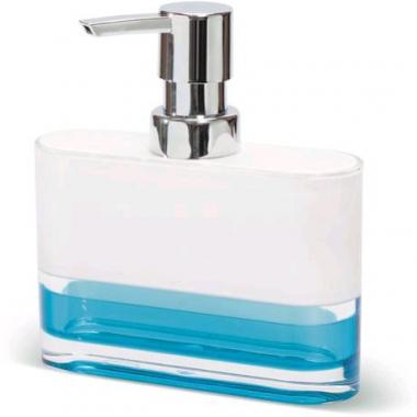 12752 Дозатор д/жидкого мыла  TOPAZ BLUE