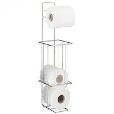 13308 Напольный держатель д/туалет.бумаги,4 рулона Tatkraft