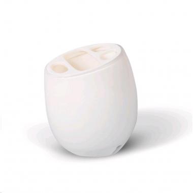 12202 Cтакан д/зубных щеток REPOSE WHITE Tatkraft
