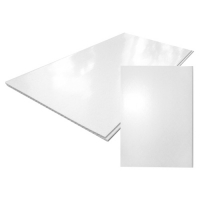 Панель ПВХ 0,25*3м Белый глянец