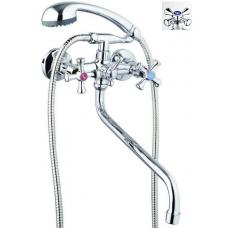 Смеситель д/ванны дл. излив ''G.LAUF'' QFR-827(QFR 7 - A827) 01233