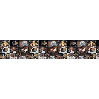 Интерьерная панель Кофе 3000*600*1мм ПВХ