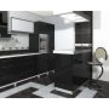 Коко-Шанель  черная 418*418 ПГ3КК200  Напольная плитка
