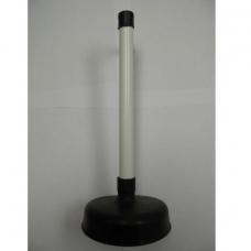 Вантуз сантехнический d120 (Н175) пласт.ручкой