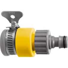 Адаптер пластиковый для без резьбовых кранов до 3/4 /PALISAD LUXE   65728