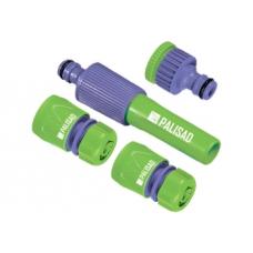 """Набор для подключения шланга 1/2"""" (распылитель,3 адаптера к распылителю)/ PALISAD  65176"""