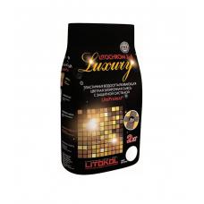 LITOKOL - LITOCHROM 1-6 LUXURY С.140 светло-коричневая затирочная смесь (2 кг)