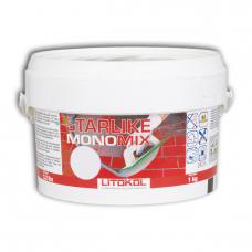 LITOKOL - LITOCHROM Starlike MONOMIX С.220 Silver - затирочная смесь (1 кг) нз
