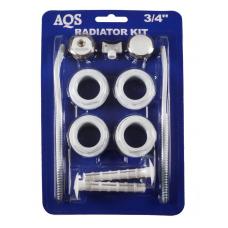 Монтажный комплект д/радиатора  Ду-20(112-3/4) 'G.LAUF' 39064 (2-кроншт.) AQS 1/40 шт