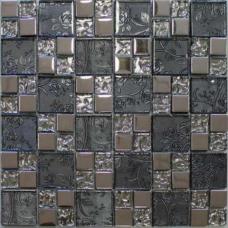 Мозаика металл+стекло MC222MLA Primacolore 23x23+48x48/300x300