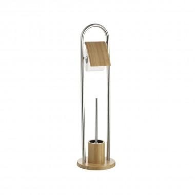 282255 Гарнитур д/туалета  Axentia, цвет натуральный/серебристый